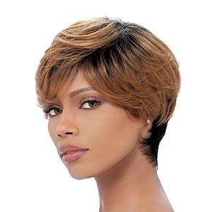 SENSATIONNEL Bump Wig - FEATHER CHARM - Color #1 - Jet Black -