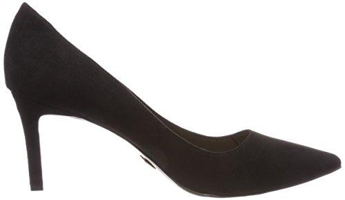 Buffalo Women's H733-c002a-4 P1751a IMI Suede Closed-Toe Pumps, Black 01 001 Black (Black 01 00)