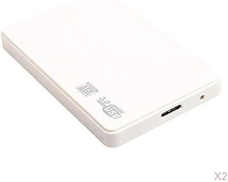 Gazechimp Disco Duro Externo 2pcs 2T USB3.0 para De Escritorio ...