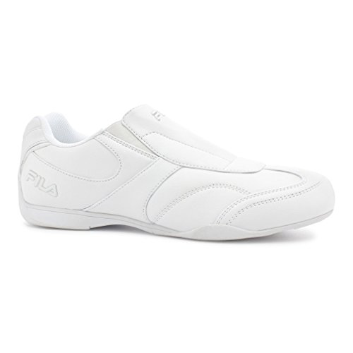Fila Uomo Movimento Slip On Driving Shoes Bianco, Bianco, Argento Metallizzato