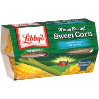 Libby's Microwavable Cups 4-4oz Cups (Pack of 6) Choose Vegetable Type Below