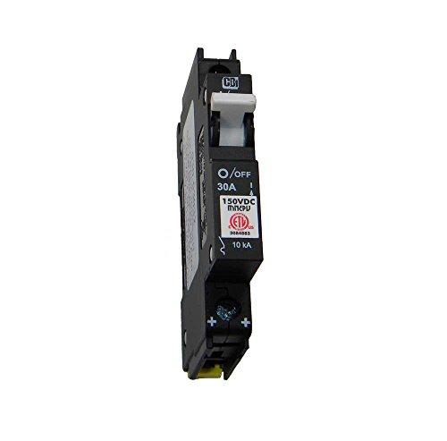Pv Breaker (Din Rail Mount Combiner PV Breaker - 30 Amp, 150 VDC, | MNEPV30)