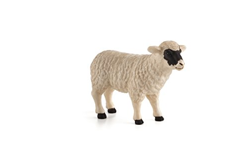 Mojo 387058 Black Faced Sheep (Ewe) Toy Figure