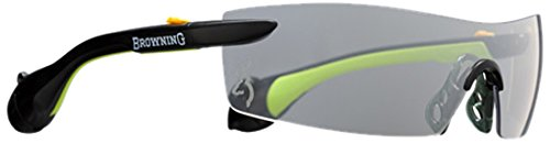 Browning Sound Shield Indoor/Outdoor Shooting Glasses, Large, Lime