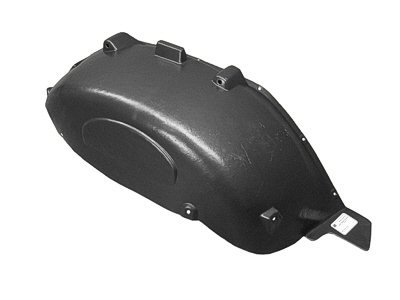 MAPM Rear, Driver Side Car & Truck Fenders Plastic CH1762100 FOR 2007-2016 Jeep Wrangler -