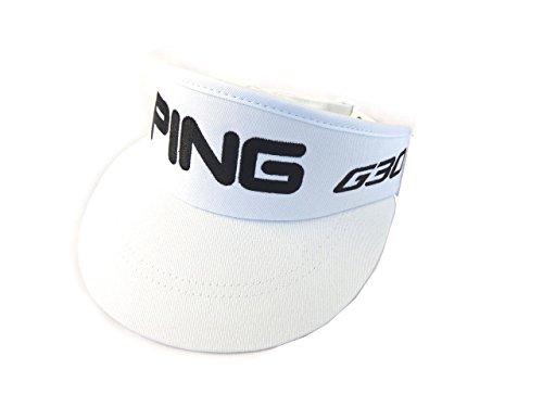 Ping G30 Bubba High Crown Visor (White) Golf Hat