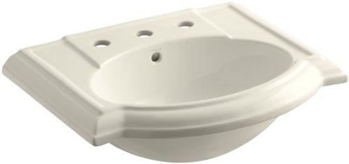 KOHLER K-2287-8-47 Devonshire Bathroom Sink Basin with 8