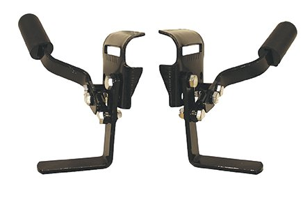 Wheelchair Fixed Armrests - 4