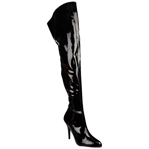 Pleaser Seduce-4010 - sexy talon hauts chaussures femmes cuissardes bottes 36-48