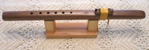 Windpony Key of A Walnut 6-Hole Flute