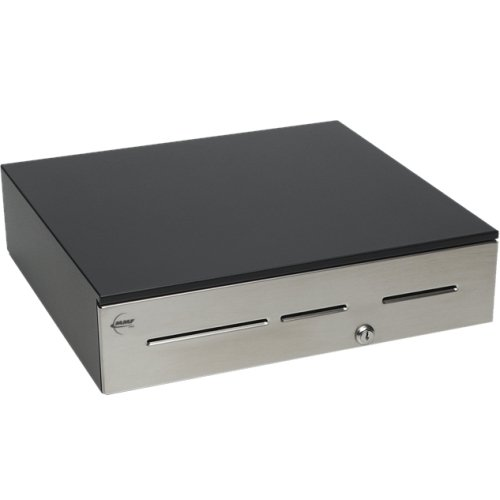 MMF POS Advantage Cash Drawer - 5 Bill - 5 Coin - Black - 4.6