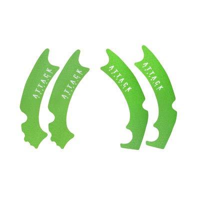 Kawasaki KX450F 2012-2015 Fits Attack Graphics Frame Grip Tape Green