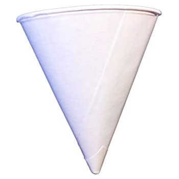 Amazon.com: Solo Bare 4 oz. Recyclable Paper Cone Water Cup ...