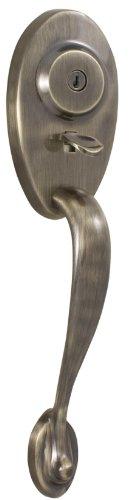 Weslock 01444-A--002D Lexington 1400 Series Entry Handle, Antique (Weslock Handles)