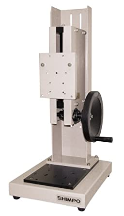 Shimpo FGS-100H Manual Hand Wheel Test Stand, 150mm Max Travel, 110lbs Capacity