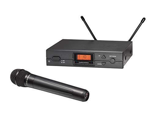 Audio-Technica 2000 Series Wireless System Audio Technica 2000 Series Handheld System (ATW-2120BI), Black