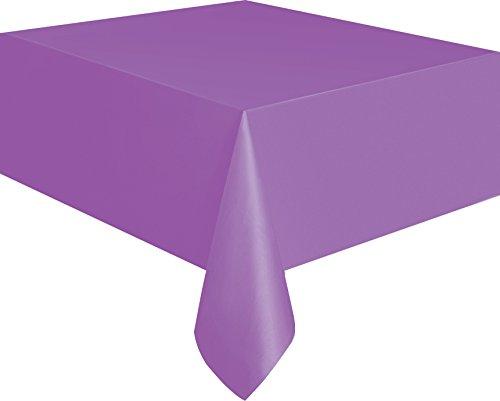 Purple Plastic Tablecloth 108 54