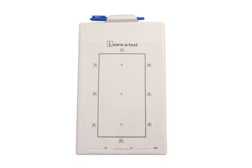(Roma Board for Dressage Test One Size White)