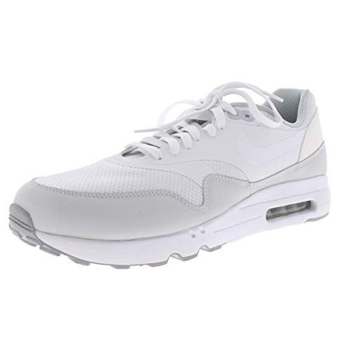 Nike Mens Air Max 1 Ultra 2.0 Essential Casual Shoes White 10 Medium (D) (Air Nike 1 Ultra Max Mens)