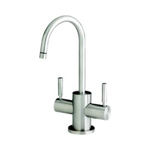 Waterstone 1400HC-PN Parche Filtration Faucet Hot and Cold Double Handle, Polished Nickel
