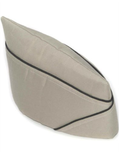[Military Officer Navy Marines Army Private Costume Hat] (Military Hat Costumes)
