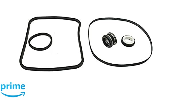 X All 3 Gaskets /& Shaft Seal SPX1600TRA SP1600Z2 PS-201 SPX1600R SPX1600S SPX1600T Pool KitKing SP2600 in Regular Hayward Super Pump Seal O-ring Replacement Go Kit 3 VSP Models Fits all SP1600