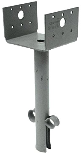 Simpson Strong Tie EPB44 12-Gauge 4x4 Elevated Post Base 10-per box