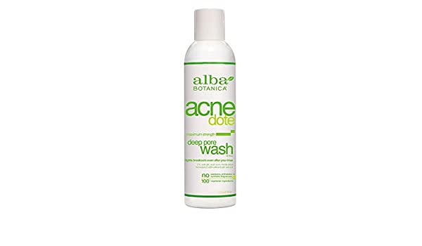 Alba Botanica - Gel Limpiador de Acné: Amazon.es: Salud y cuidado personal