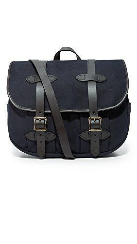 Filson Men's Medium Field Bag, Navy, One Size by Filson