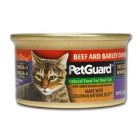 PetGuard Cat Beef And Barley Dinner 3 Ounce Canned Wet Food,