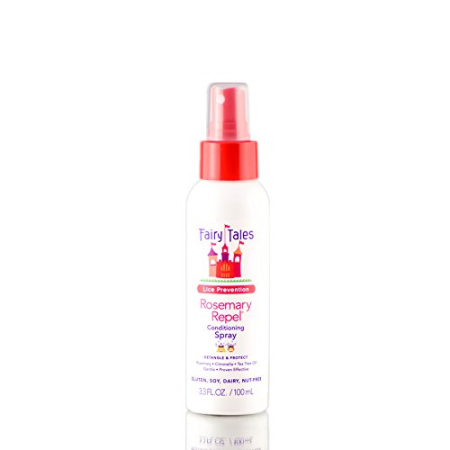 Fairy Tales Rosemary Repel Conditioning Spray 3.3 oz. 100ml Travel Size.