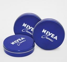 Nivea Moisturising Creme 50ml - Pack 3 (Nivea Pure And Natural Day Cream Ingredients)