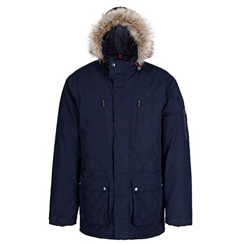 Breathable Uomo Regatta Waterproof Salinger And Navy HoodedGiacca Insulated zjqMGSpULV