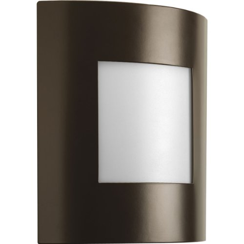 Progress Lighting P5736-129 1-Light ADA Wall Lantern That Can Be Used Indoors Or Outdoors, Architectural Bronze