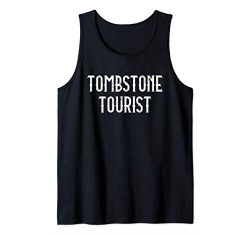 Taphophile Shirt Tombstone Tourist Cemetery Halloween Gift Tank Top ()