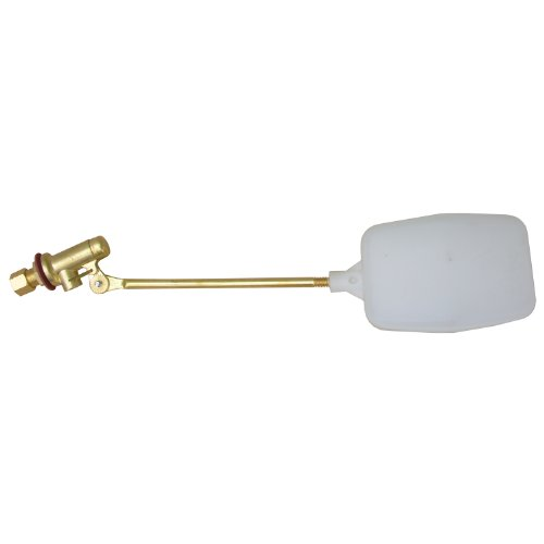 LASCO 05-1051 Heavy Duty 1/4-Inch Compression Evaporative Swamp Cooler Float Valve, Brass by LASCO