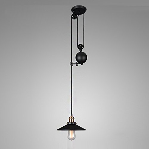 Rise And Fall Pendant Light Fitting in US - 3