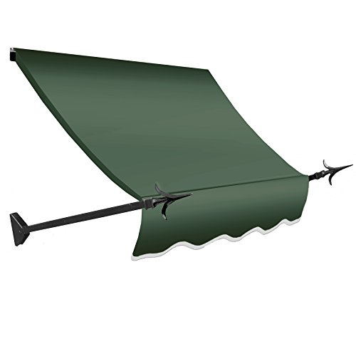 3' Sage Green (Awntech 3-Feet New Orleans Awning, 56-Inch Height by 32-Inch Diameter, Sage)
