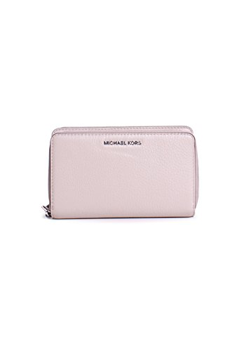 Michael Kors Adele Phone Wallet - 32H5SAFE1L (CEMENT) by Michael Kors