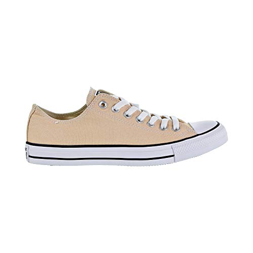Converse Chuck Taylor All Star Seasonal Canvas Low Top Sneaker, raw Ginger, 9.5 M US