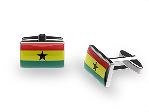 Ghana Boutons de manchette en forme d'étoile
