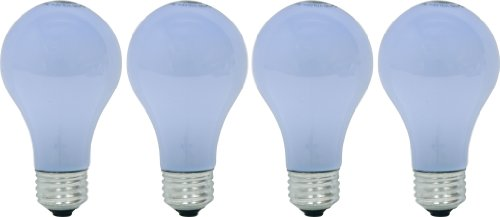 GE Lighting 67769 Reveal 29-Watt, 325-Lumen A19 Light Bulb with Medium Base, 4-Pack
