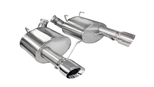 (CORSA 14317 Xtreme Stainless Steel Axle-Back Exhaust System Kit with 4