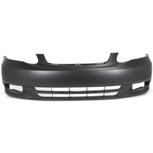 Perfect Fit Group T010317PQ – Corolla Front Bumper Cover, Primed, W/O Spoiler Hole, Ce/ Le Models – Capa