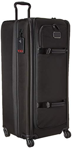 (Tumi Unisex Alpha 3 Tall 4 Wheeled Duffel Packing Case Black One Size)