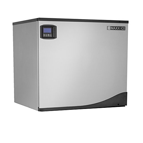 Maxx Ice MIM500NH 30'' Modular Clear Ice Maker Cuber - 513lb Per Day Half Dice Cubes - NEW GENERATION by Maxx Ice