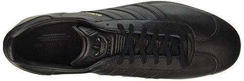 Adulto Casual Black Negro Adidas core gold Metallic Gazelle Black Originals Zapatillas core Unisex 6x4Xq