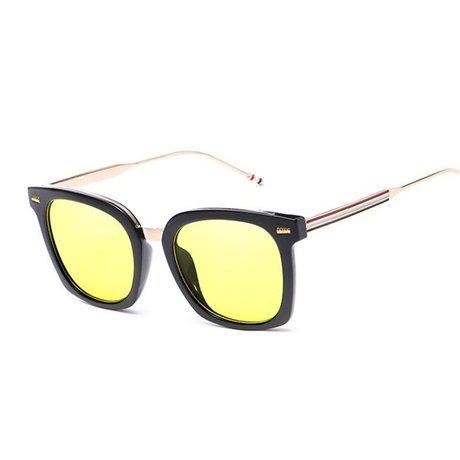 Rouge Unisexe soleil homme Flip jaune GGSSYY pour de Lunettes jaune soleil Lunettes de clipser q7ttwIH6