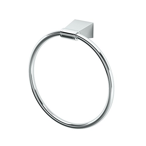 Gatco 4712 Bleu Towel Ring, - Towel Ring Chrome European