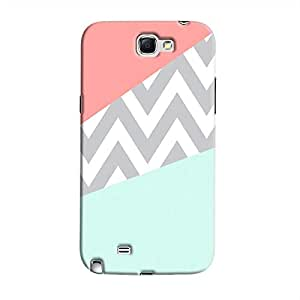 Cover It Up - Jagged Pastel Galaxy Note 2 N7100Hard Case